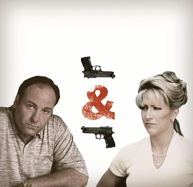 Mujeres que disparan, mujeres que tiran tupper