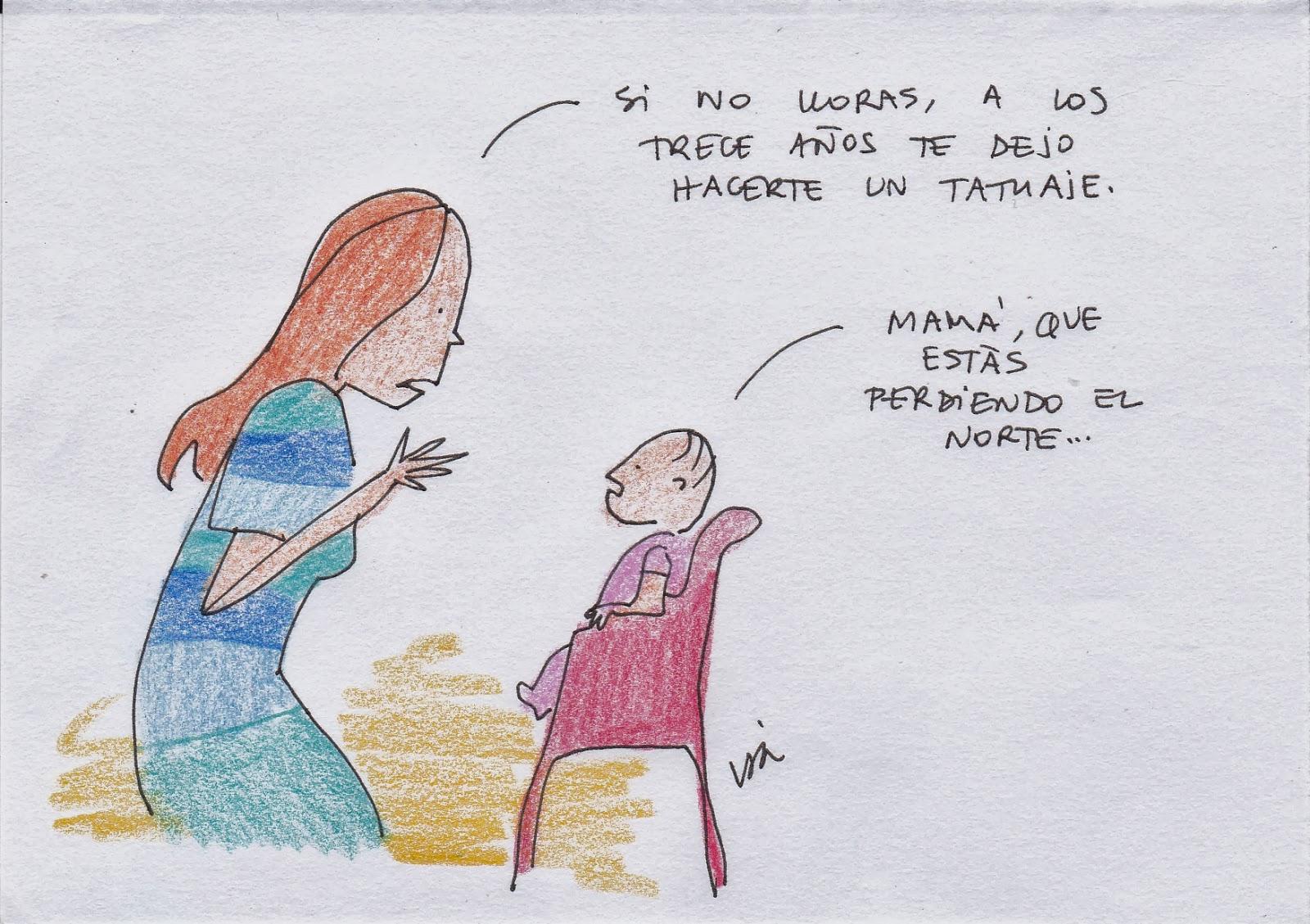 Ilustración de Isa Vázquez.