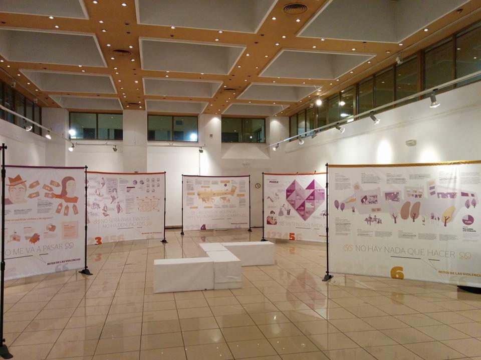 Vuelve la exposición 'Mitos de las violencias machistas'
