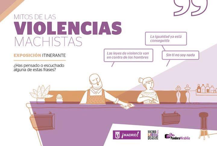 Se inaugura la exposición 'Mitos de las violencias machistas'