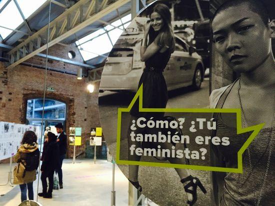 ¡¡¡Que vienen las feministas!!!