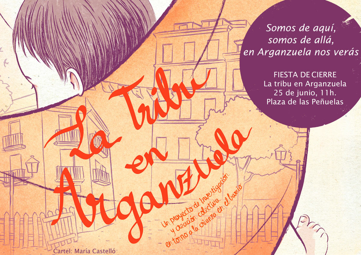 Fiesta de cierre de La Tribu en Arganzuela