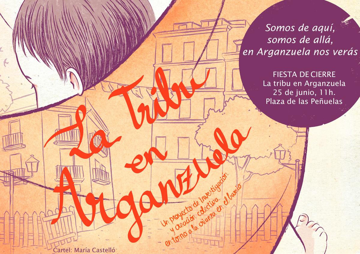 cartel fiesta tribu_arganzuela