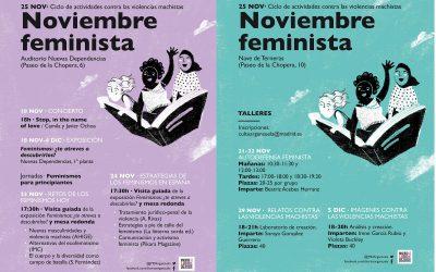 Noviembre feminista en Arganzuela