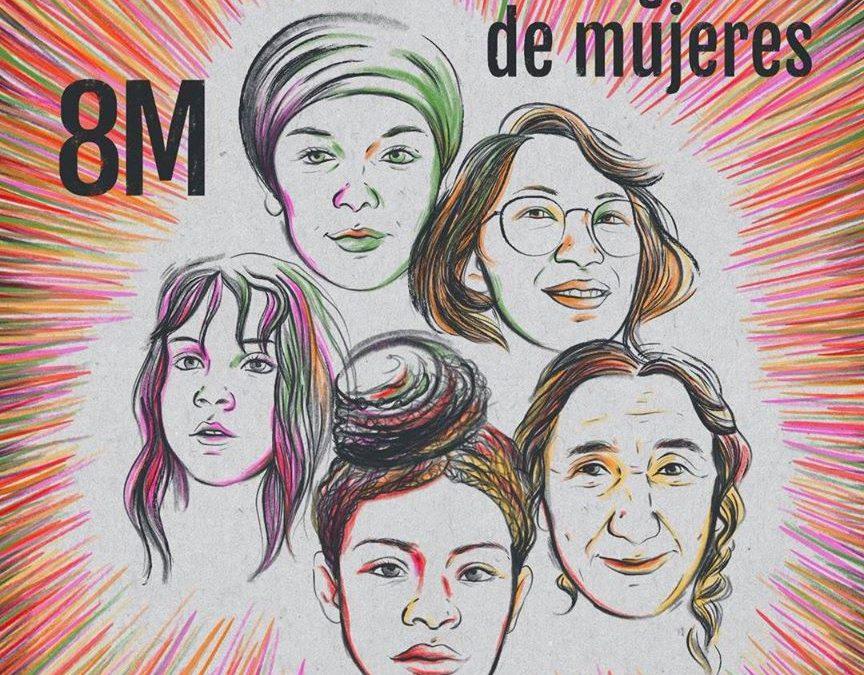 8 de marzo, #huelgademujeres