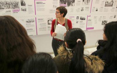 Guías descargables de las exposiciones de Feminismos y Violencias machistas