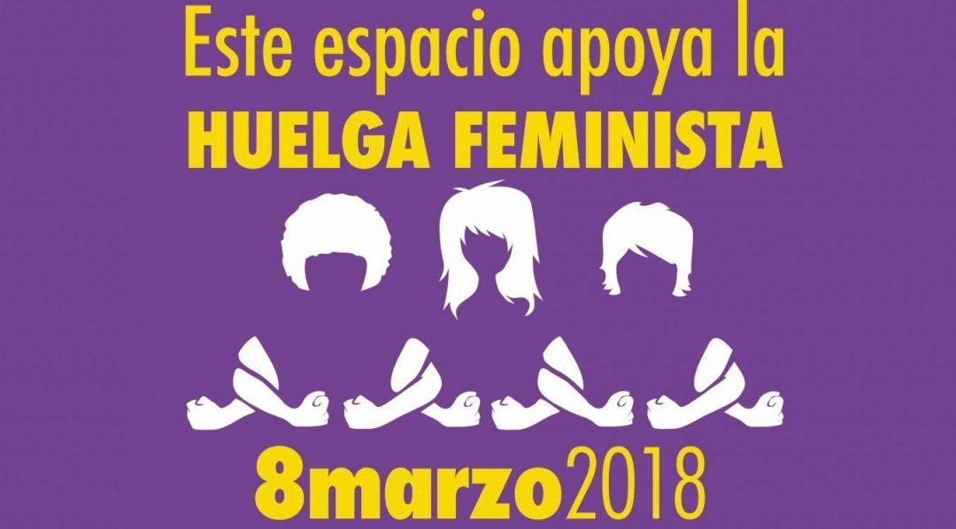 Pandora Mirabilia secunda la huelga feminista del 8 de marzo