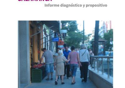Organización social de los cuidados en el distrito Salamanca