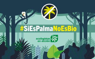 #AparcaLaSoja y #SiEsPalmaNoEsBio